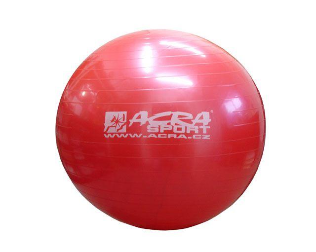 Piłka gimnastyczna 750 mm czerwona