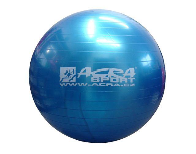 Piłka gimnastyczna 750 mm niebieska