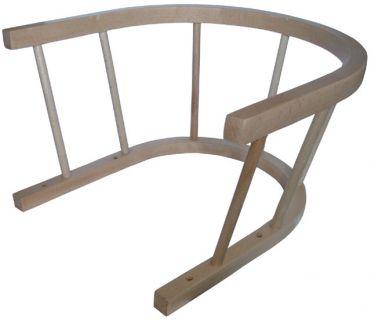 Drewniane oparcie na sanki