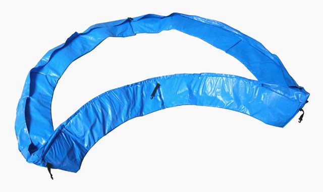 Osłona sprężyn trampoliny 366 cm - niebieska