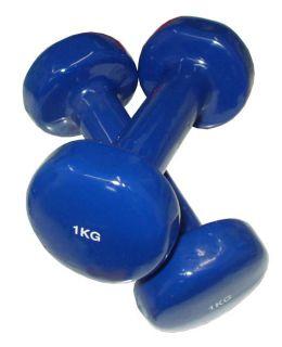 Hantle 2 x 1 kg niebieskie