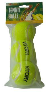 Piłki tenisowe 3 sztuki w torbie