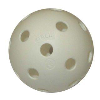 Piłka do unihokeja niecertyfikowana biała