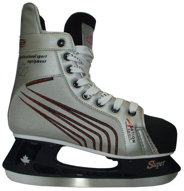 Łyżwy hokejowe - kategoria rekreacyjna - rozmiar 30