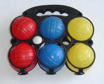 Petanque plastikowe - sześć piłek