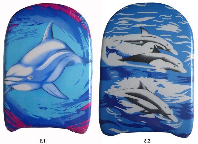 Plastikowa deska pływacka 43 x 27 cm