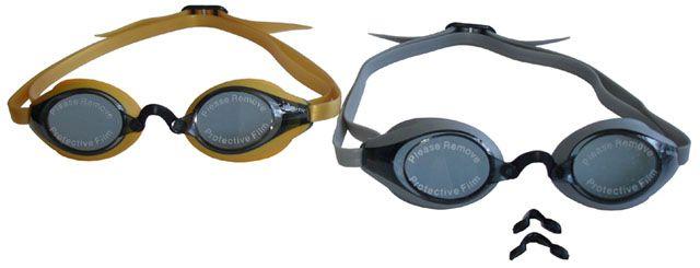 Okulary pływackie - wyścigowe silikonowe STAR
