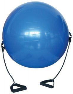 Piłka gimnastyczna z uchwytami 650 mm