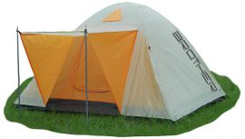 Namiot dla 3-4 osób z podwójną skorupą