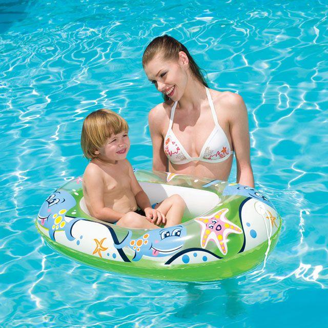 Ponton łódź dla dzieci