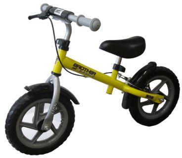 Rowerek ma odpychanie  LION - żółte
