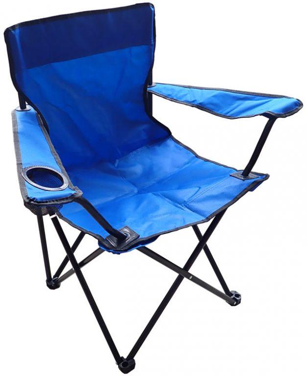 Krzesło składane - jasnoniebieskie