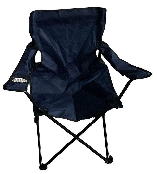 Krzesło składane - niebieskie