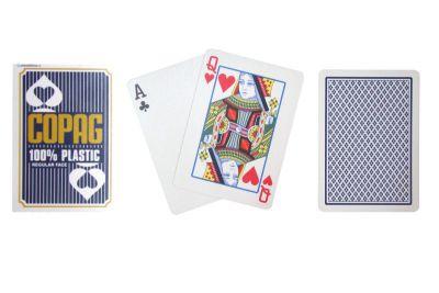 Karty Pokerowe Copag Regular 2 rogi niebieskie