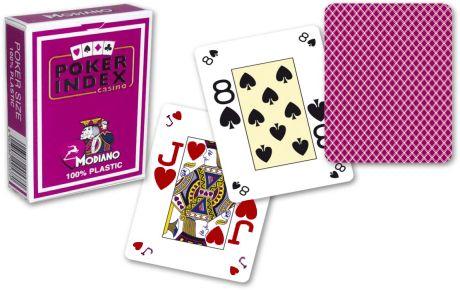 Modiano Mini 4 rogi  karty - Fioletowe