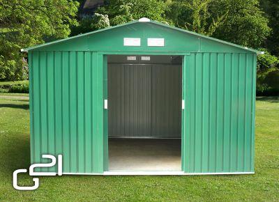 Domek ogrodowy G21 GAH 1092 - 311 x 351 cm, zielony