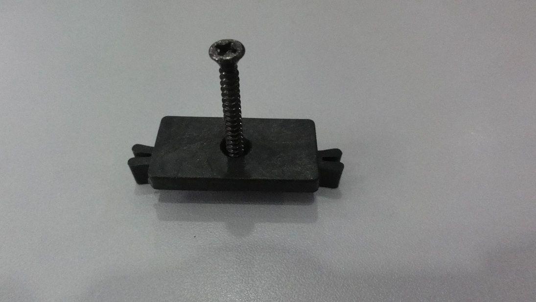 G21 Klamra łącząca deskę tarasową z legarem, śrubka ze stali nierdzewnej
