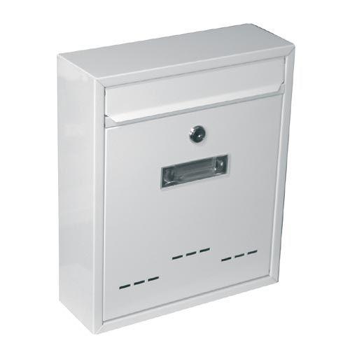 Skrzynka pocztowa RADIM biała 310x260x90mm