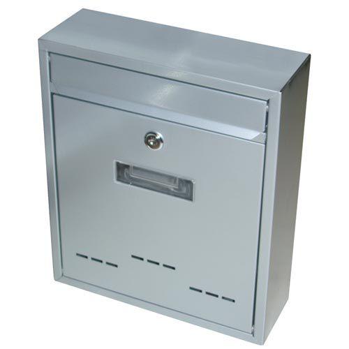 Skrzynka pocztowa jak mały szary 310x260x90mm