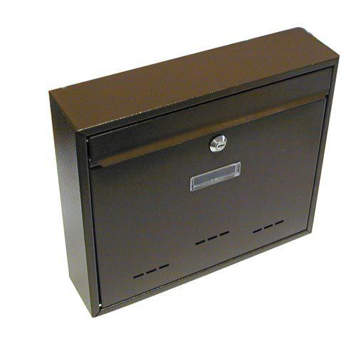 Skrzynka pocztowa G21 RADIM duża 310x360x90 mm brązowa