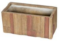 Doniczka G21 Wood Box - 28 cm