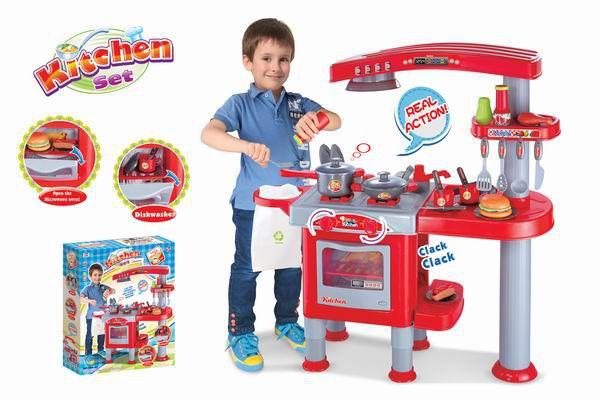Kuchnia dziecięca G21 duża z akcesoriami