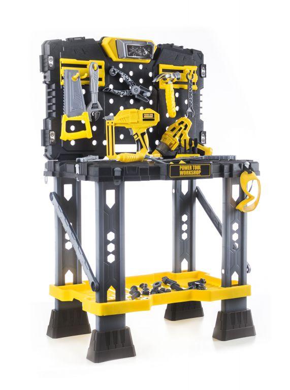 G21 Plastikowy stół warsztatowy z narzędziami zabawka