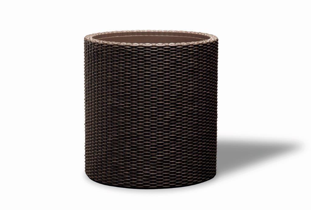 KETER Doniczka Cylinder M - brązowy