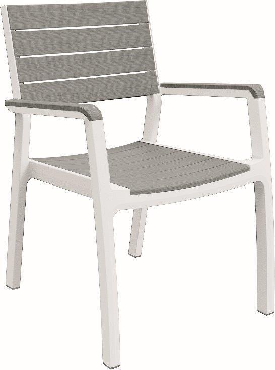 KETER Fotel ogrodowy z tworzywa sztucznego Harmony