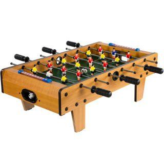 Piłkarzyki mini stół piłkarski 70 x 37 x 25 cm