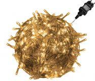 Świąteczne LED oświetlenie - 20 m, 200 LED, ciepła biel
