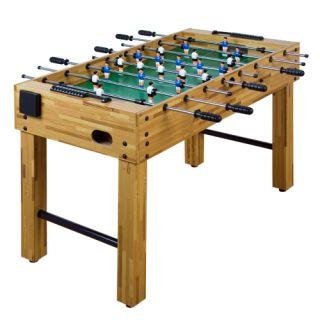 Piłkarzyki stół piłkarski buk 121 x 101 x 79 cm
