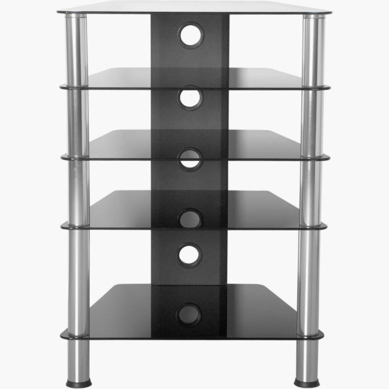 Stół HiFi 88 x 61 x 52 cm szkło bezpieczne