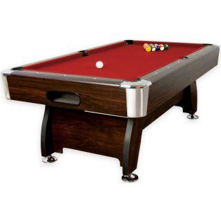 Stół bilardowy Premium pool bilard 8ft + akcesoria bilardowe