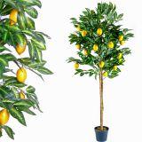 Drzewko sztuczne owocowe cytrynowe 184 cm