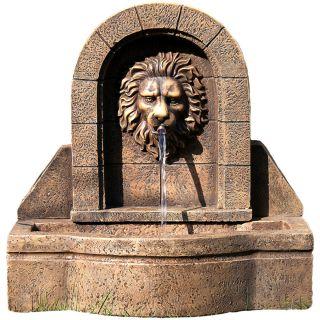 Fontanna ogrodowa - głowa lwa 50 x 54 x 29 cm