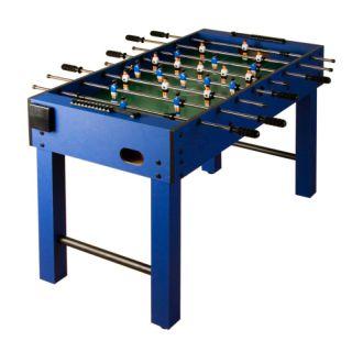 Piłkarzyki stół piłkarski niebieski