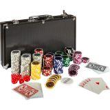 Zestaw do pokera 300 szt żetonów BLACK EDITION 1 - 1000