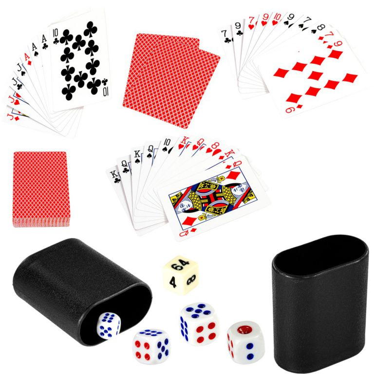 Wielofunkcyjny stół do gry 15 w 1 - czarny