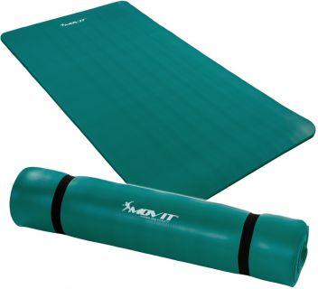 Mata piankowa MOVIT do jogi i gimnastyki 190 x 100 x 1,5 niebieska