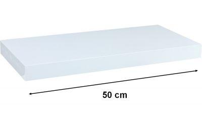 Półka ścienna STILISTA Volato Regał wiszący biały długość 50 cm