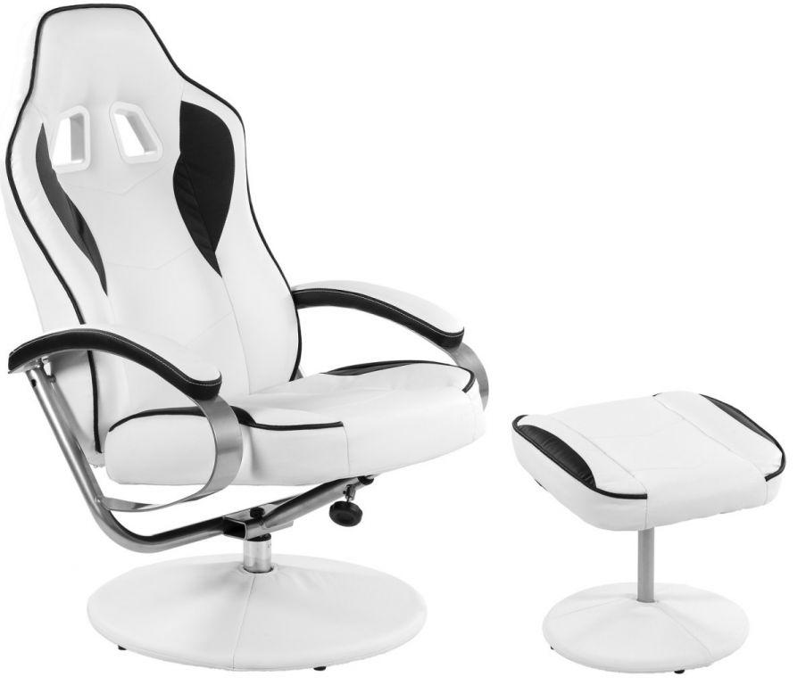 Fotel relaksacyjny biurowy obrotowy GT RELAX RACER z