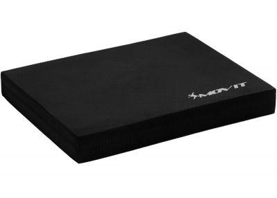 Poduszka podkładka do ćwiczeń równoważnych MOVIT 48 x 38 x 5,8 cm czarna