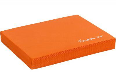Poduszka podkładka do ćwiczeń równoważnych MOVIT 48 x 38 x 5,8 cm pomarańczowa