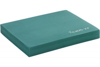 Poduszka podkładka do ćwiczeń równoważnych MOVIT 48 x 38 x 5,8 cm turkusowa