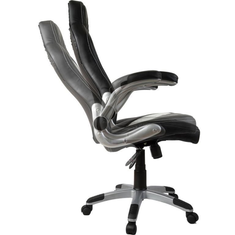 Fotel biurowy Premium GT Stripes Series, żółty