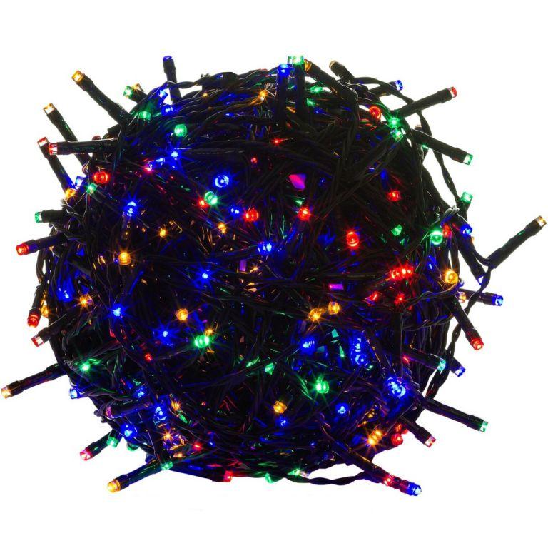 Świąteczne LED oświetlenie - 60 m, 600 LED, kolorowy