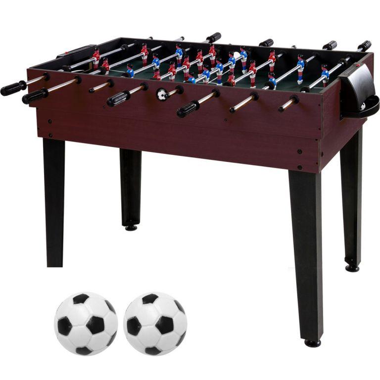 Wielofunkcyjny stół do grania 15 w 1 - ciemno brązowy