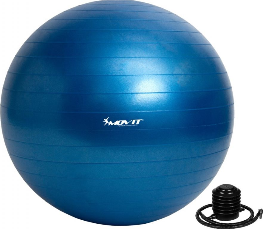 MOVIT niebieska piłka - 75 cm