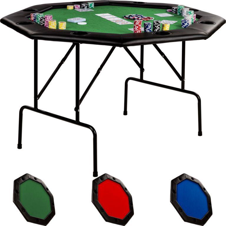 Stół do pokera - kolor zielony